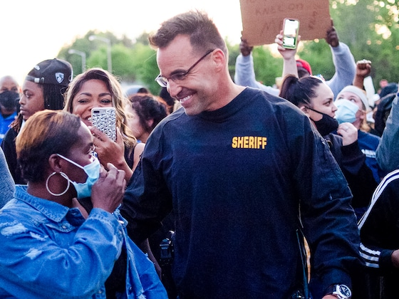Michigan Sheriff Explains Why He Walked With George Floyd Protesters