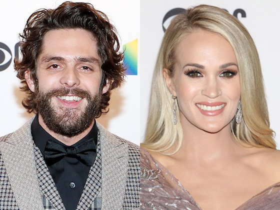 Carrie Underwood and Thomas Rhett Give Shout-Outs to Teachers in <i>CMT Celebrates Our Heroes</i> Special