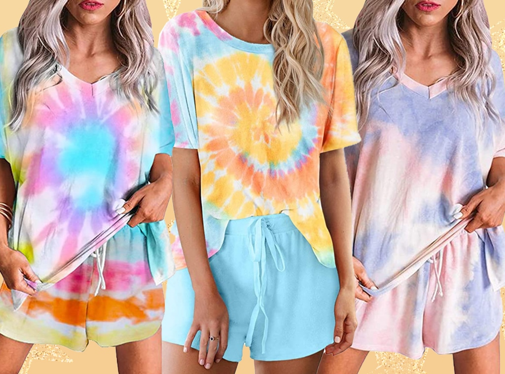 Ecomm: Amazon Tie-Dye Lounge Set