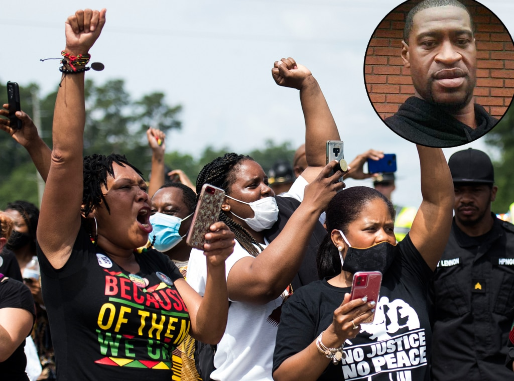 Family member calls for end to racism, police brutality — George Floyd memorial