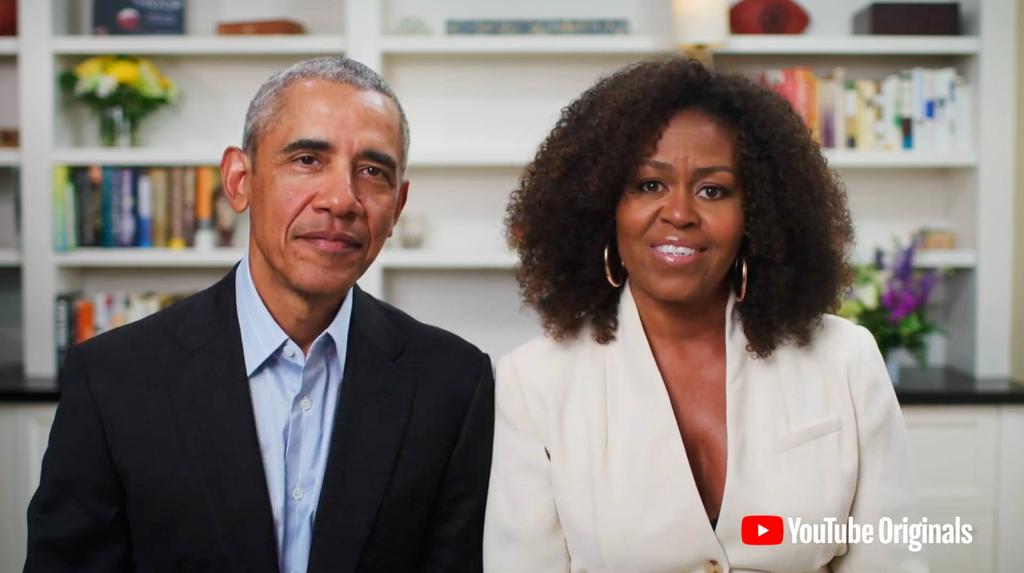 Michelle Obama, Barack Obama, Dear Class of 2020