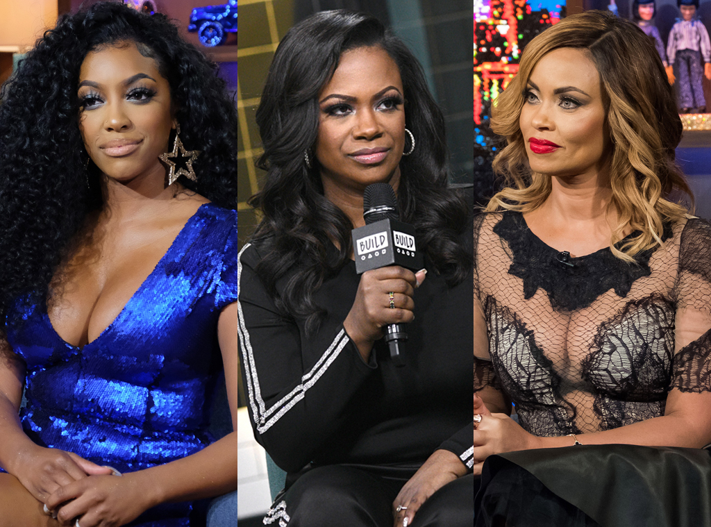 Porsha Williams, Kandi Burruss, Gizelle Bryant
