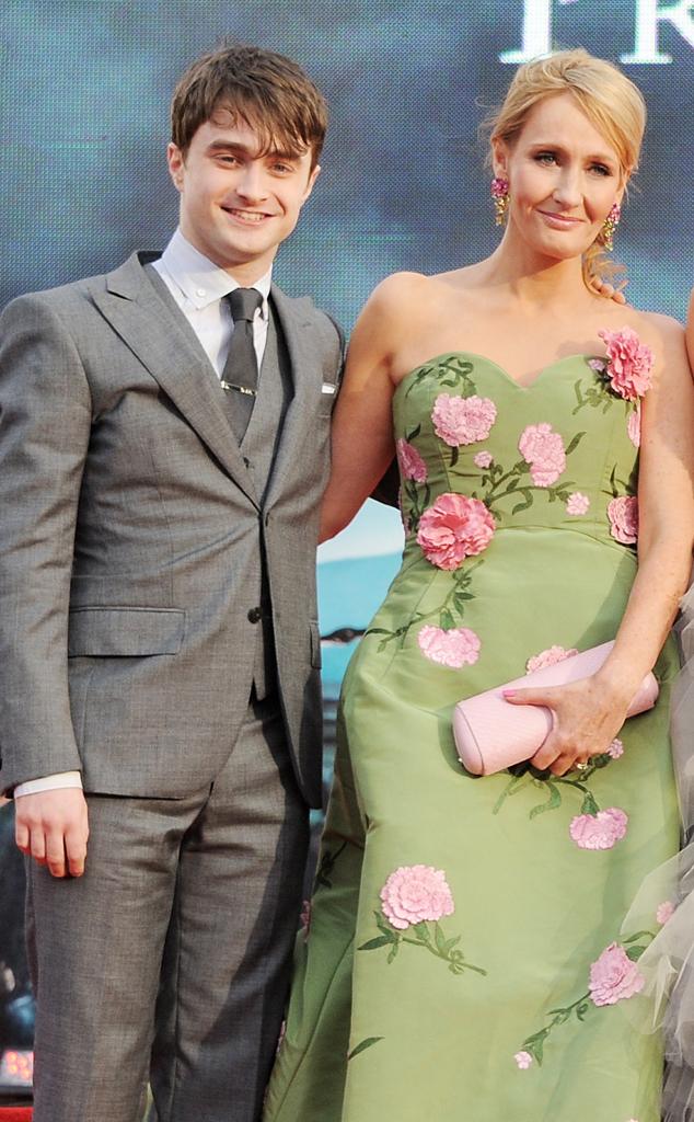 Daniel Radcliffe, J.K. Rowling