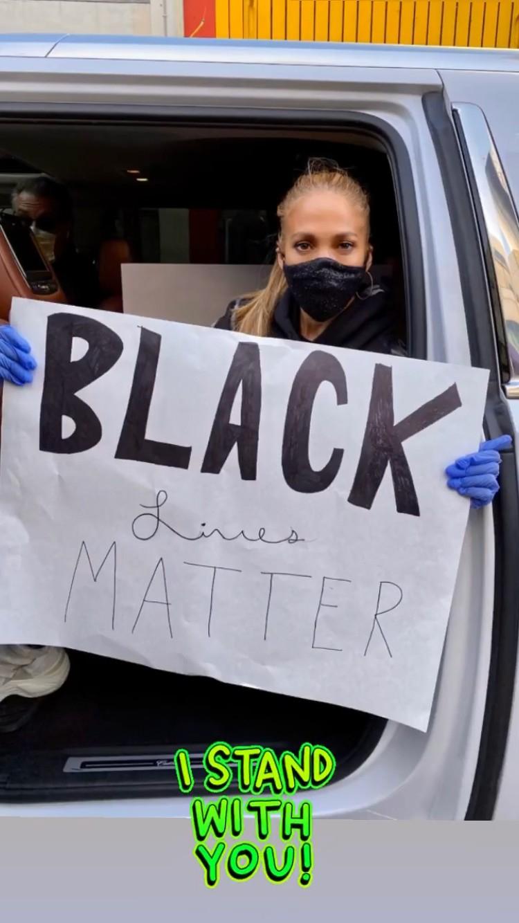 Jennifer Lopez, protestations