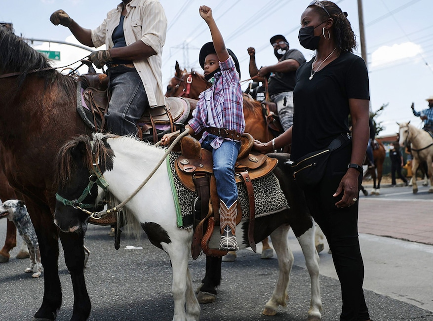 Inspiring Moments from BLM Protests