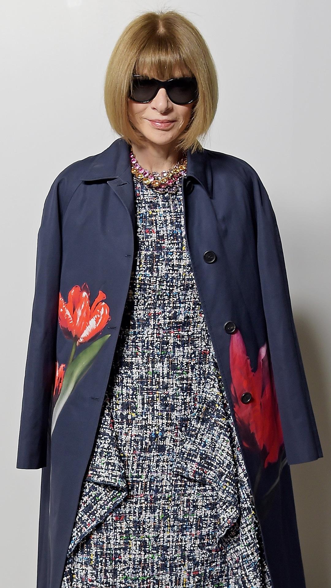 Anna Wintour, 2019 London fashion week
