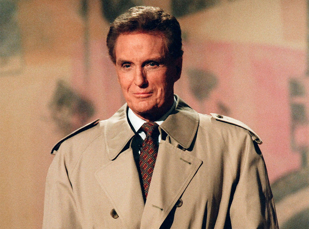 Robert Stack, Host of Unsolved Mysteries, 1996
