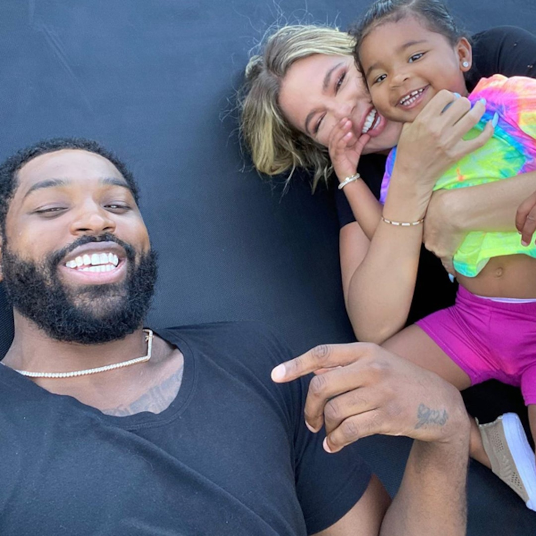 """Khloe Kardashian Says Tristan """"Freaked Out"""" When She Did This to True - E! Online"""