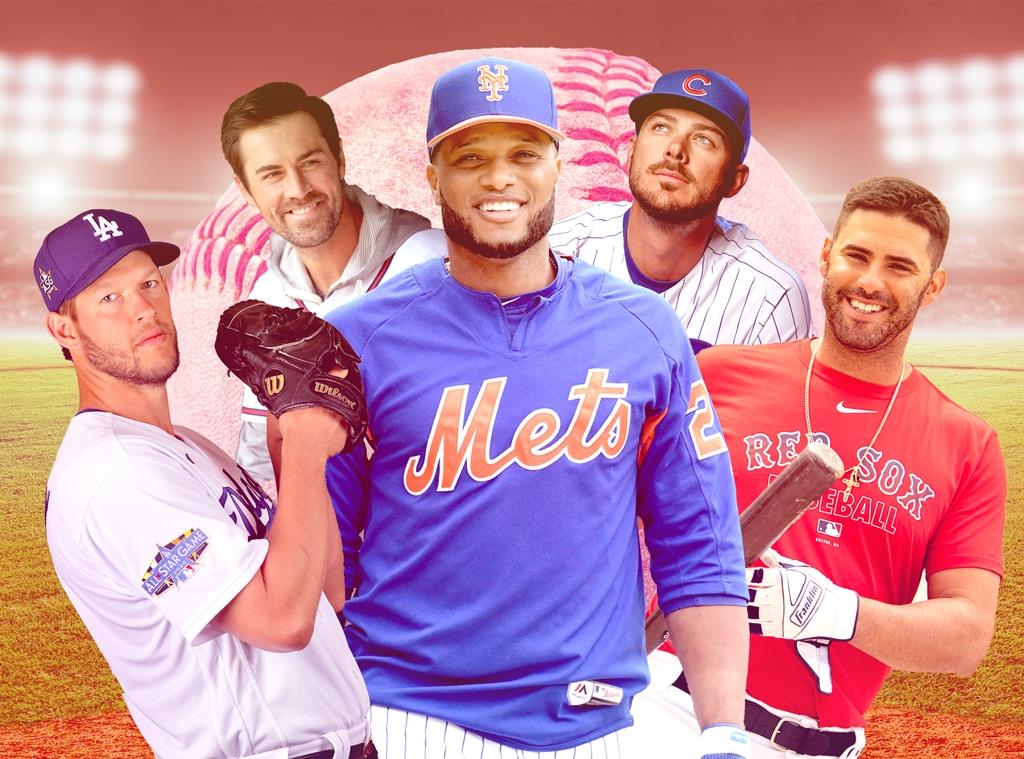Hot Baseball Players Feature, Clayton Kershaw, Cole Hamels, Robinson Cano, Kris Bryant, JD Martinez