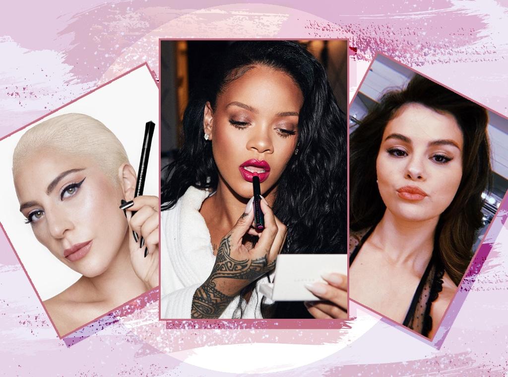 E-Comm: Celebrity Beauty Brands, Rihanna, Lady Gaga, Selena Gomez