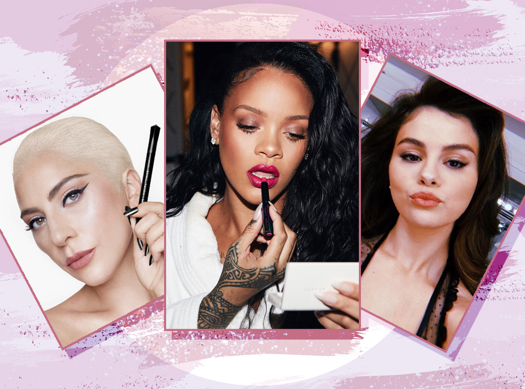E-Comm: Celebrity Beauty Brands, Rihanna, Lady Gaga, Selena Gomez