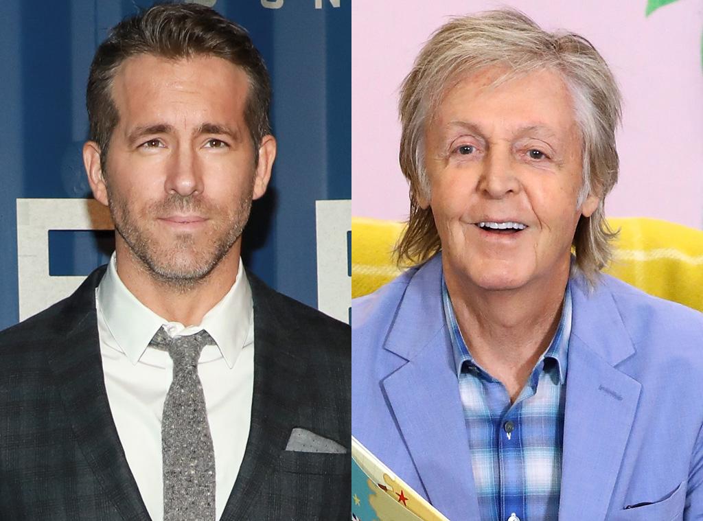 Ryan Reynolds, Paul McCartney