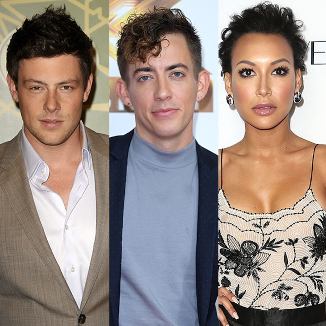 """Glee's Kevin McHale Says Cory Monteith Helped """"Find"""" Naya Rivera in Touching Tribute – E! NEWS"""