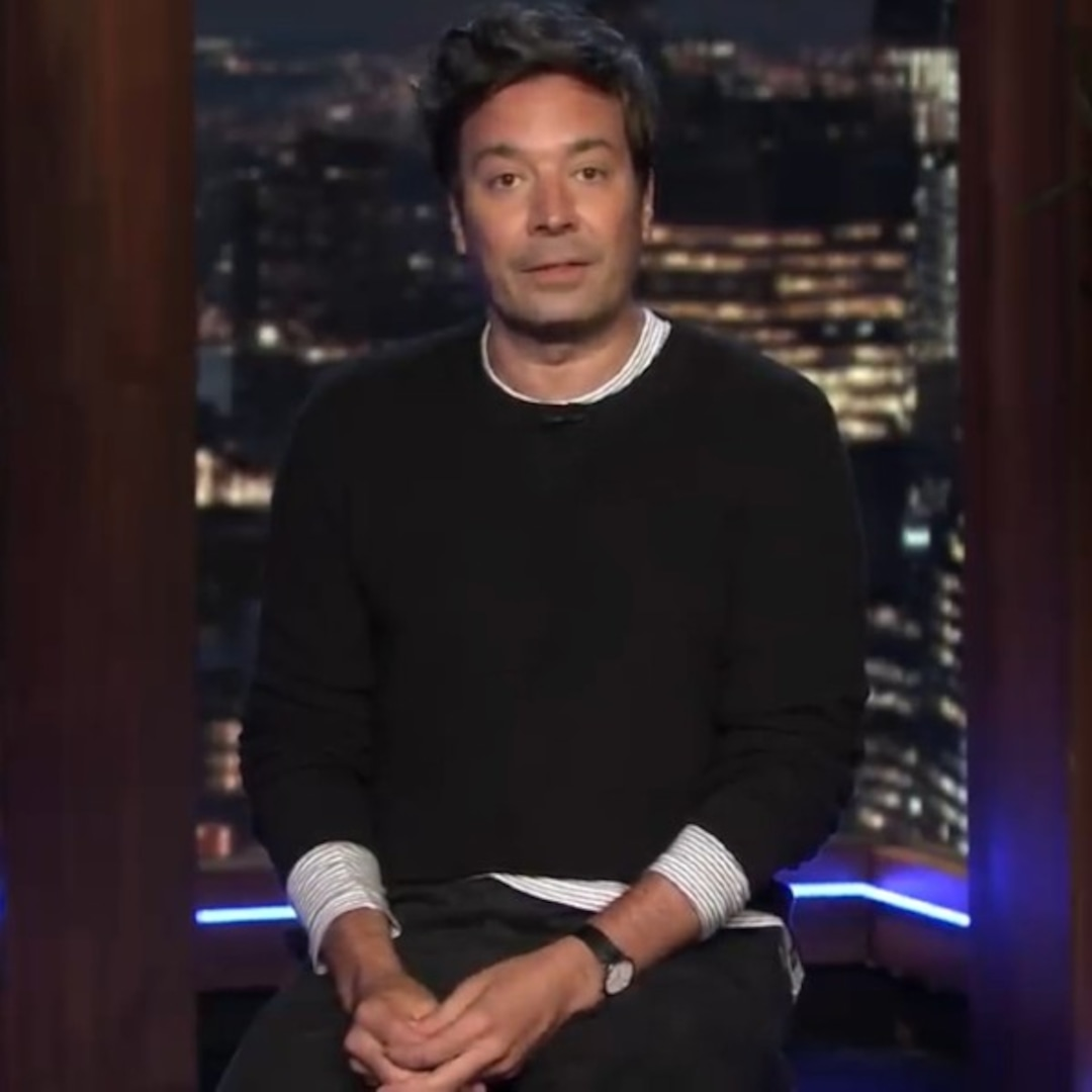 Jimmy Fallon Returns to Tonight Show Studio With Moving Message on Coronavirus Pandemic