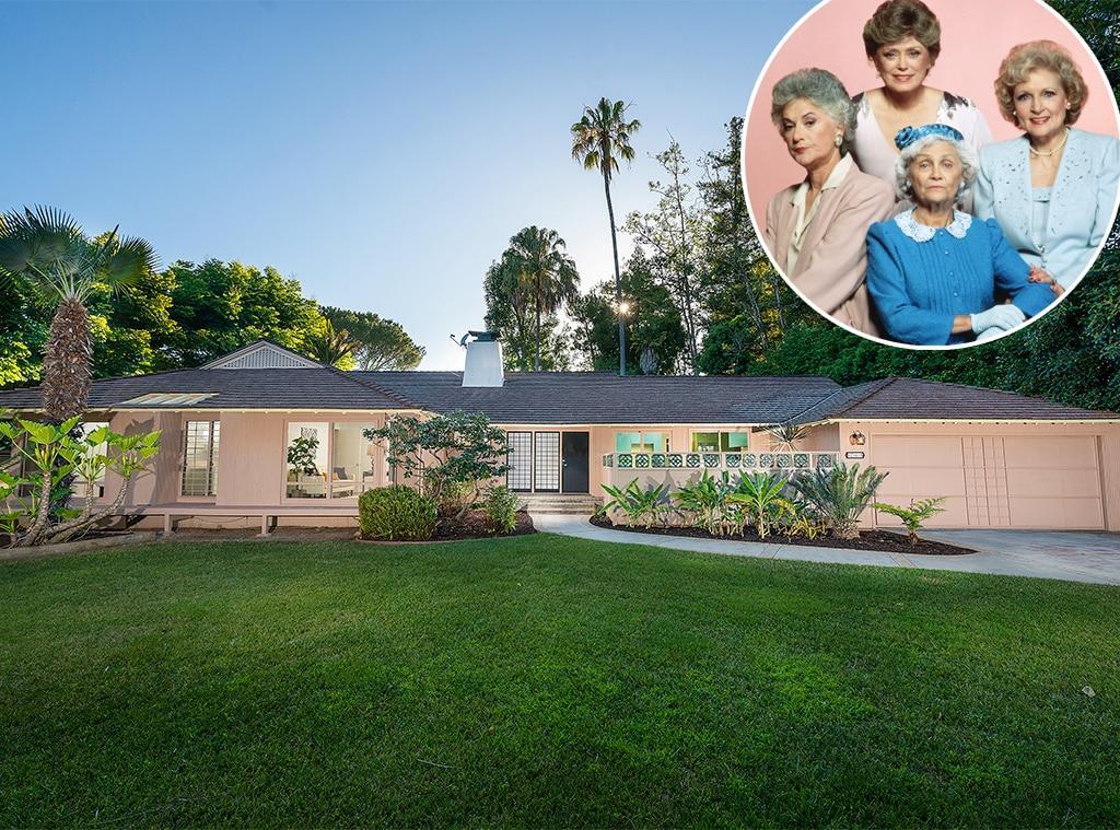 'Golden Girls' home on the market