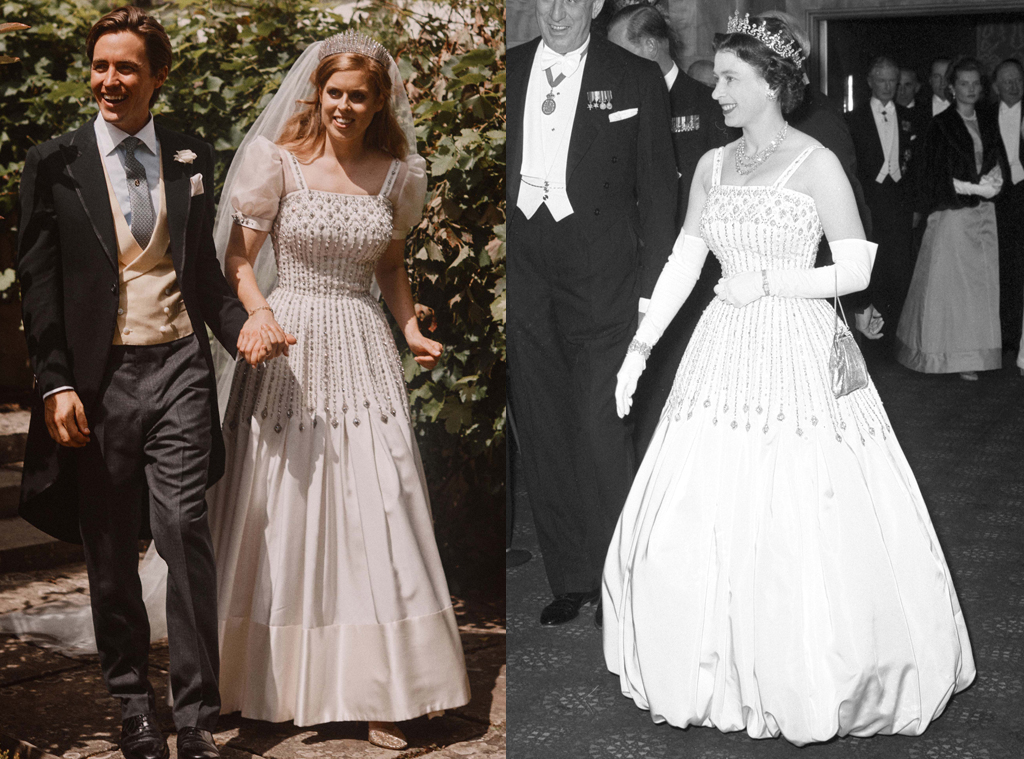 Princess Beatrice S Enchanting Wedding Dress Belonged To Queen