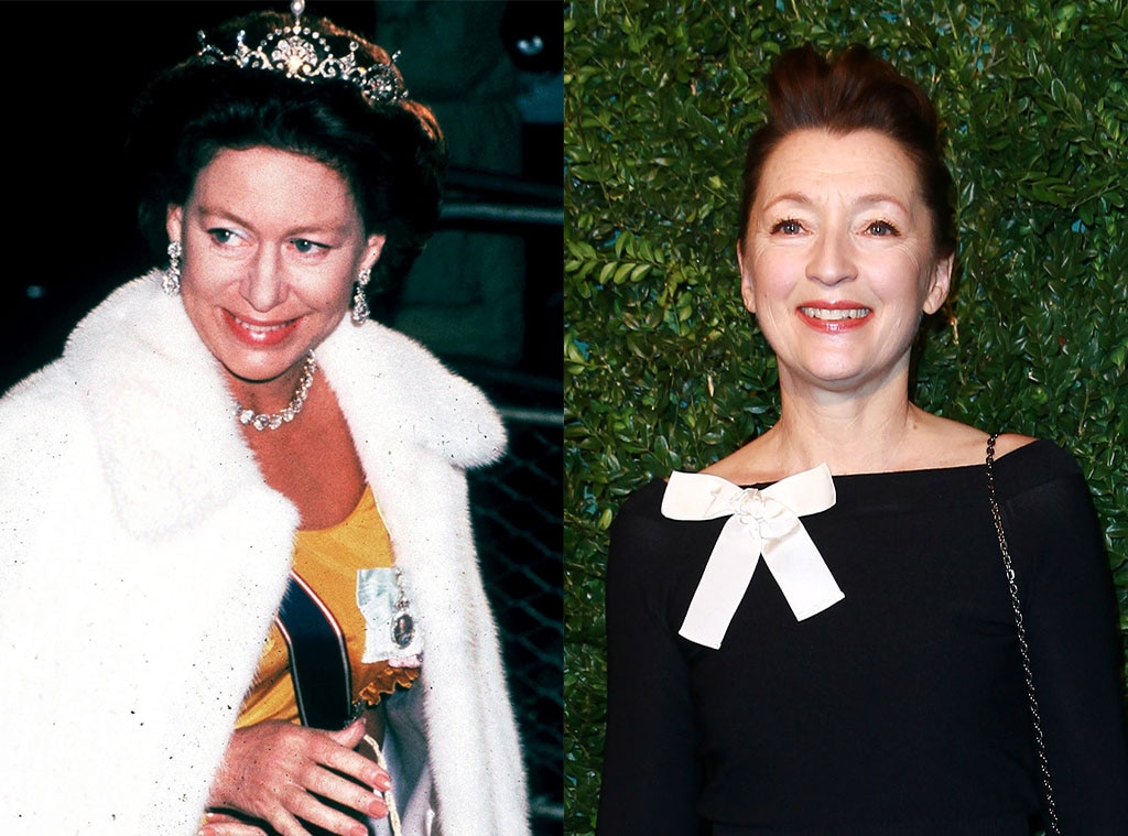 Lesley Manville lands Margaret role in The Crown