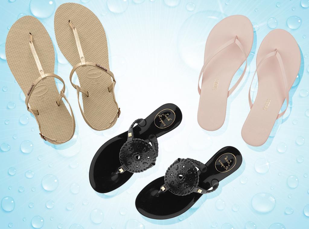 EComm: Best pool/beach shoes/flip flops