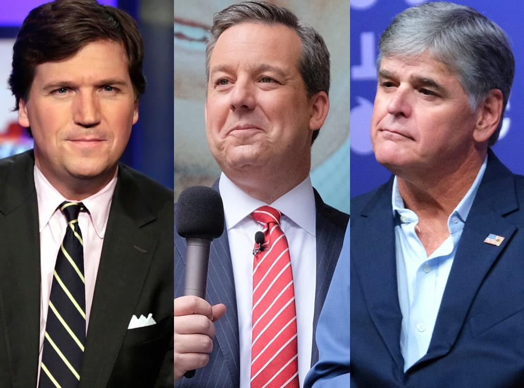 Tucker Carlson, Ed Henry, Sean Hannity