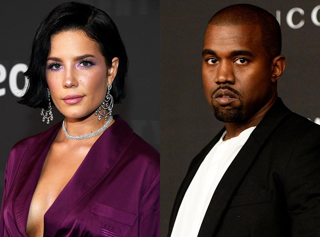 Halsey, Kanye West