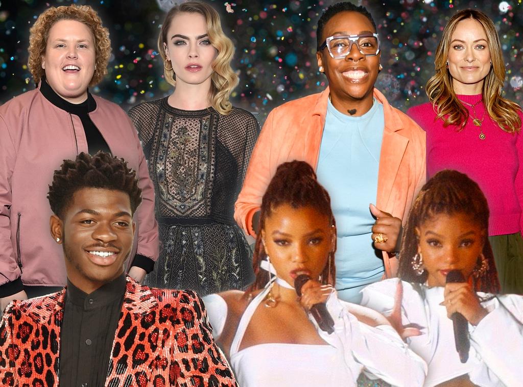 2020 GLAAD Media Awards, Chloe X Halle, Fortune Feimster, Gina Yashere, Lis Nas X, Olivia Wilde, Cara Delevingne