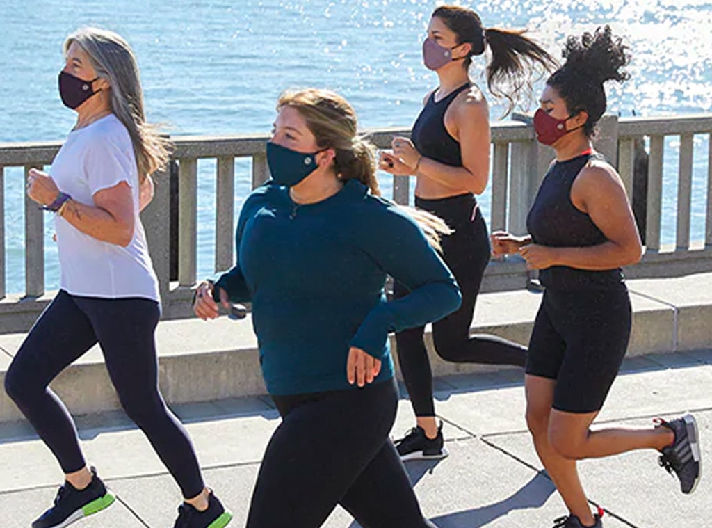 ECOMM: Athleta Made to Move Mask Launch
