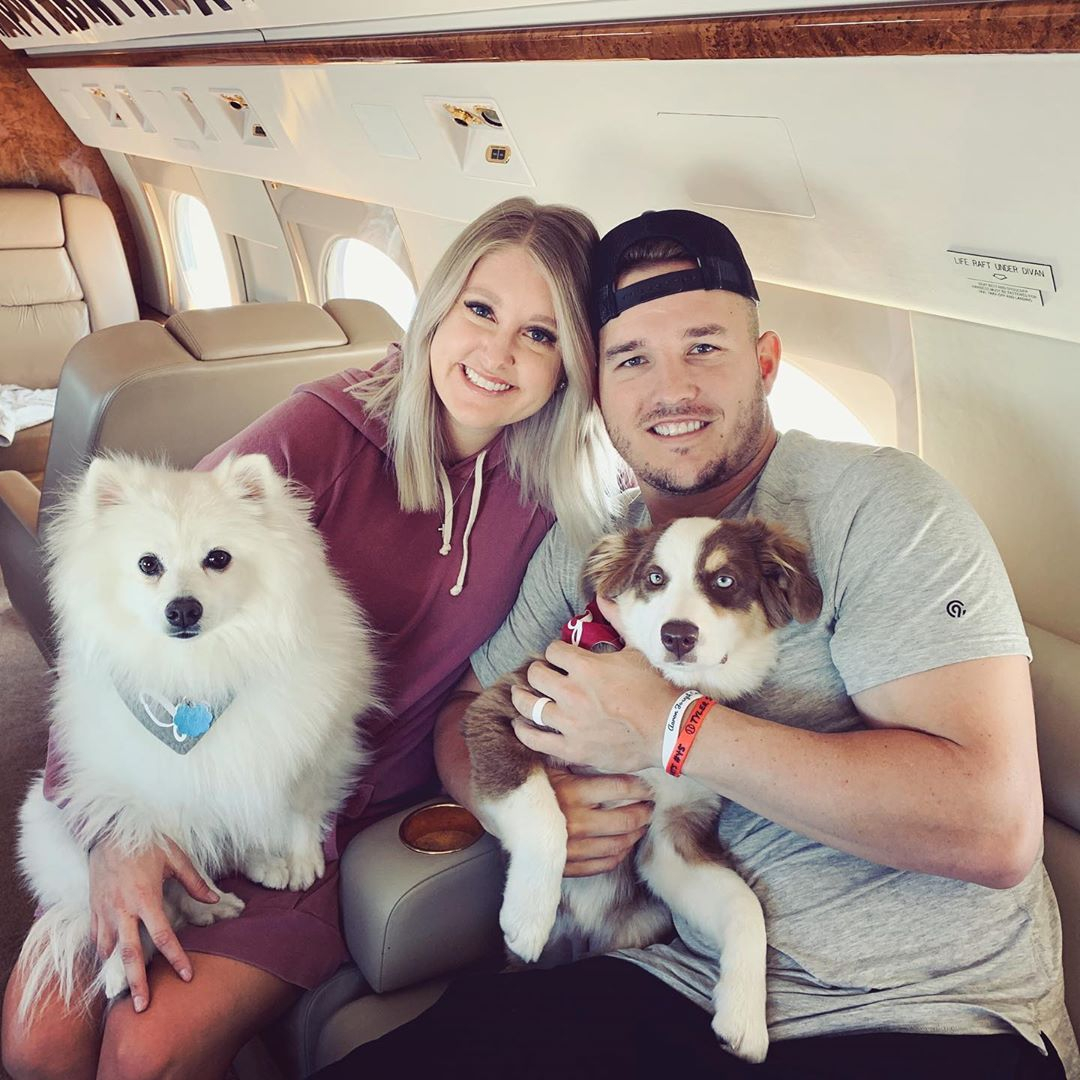 Mike Trout, Jessica Trout