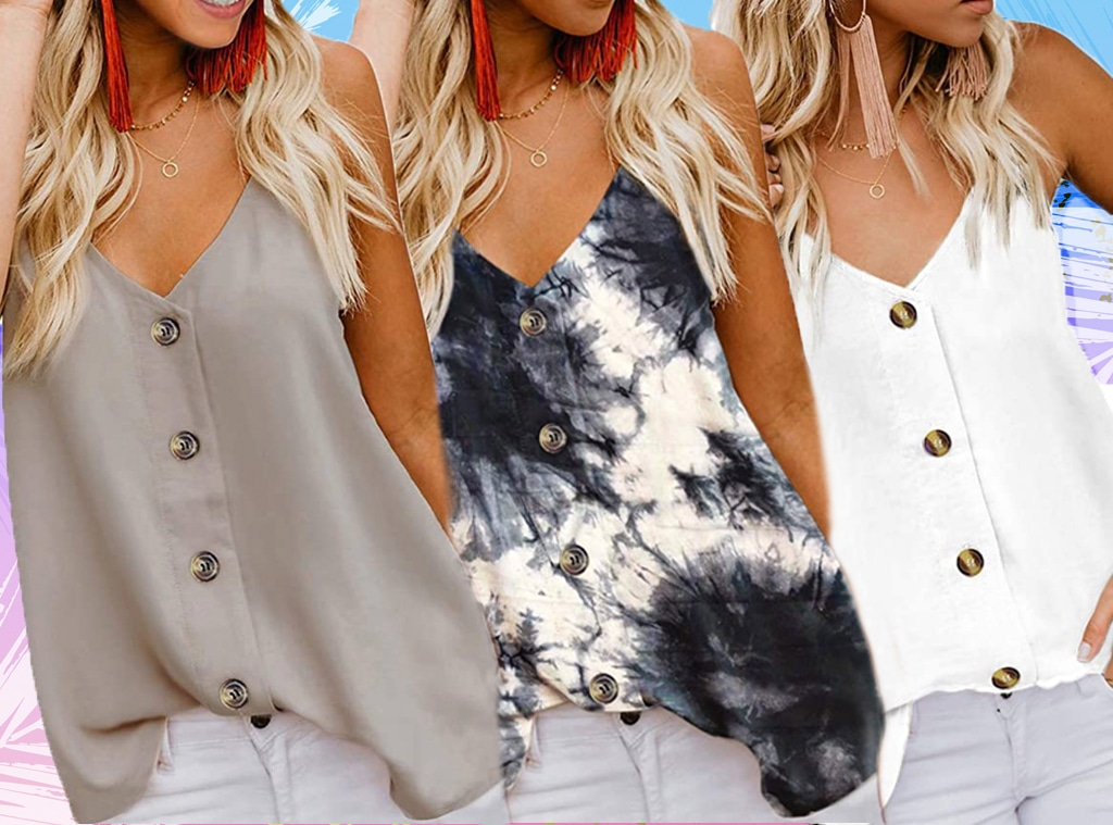 EComm, This $18 Button Tank Has 1,000 5-Star Amazon Reviews