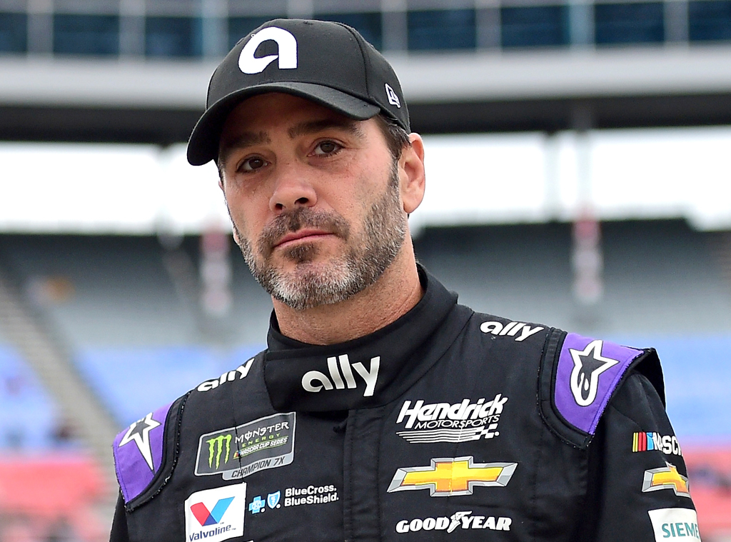NASCAR's Jimmie Johnson Drops Out of Race After Testing Positive ...