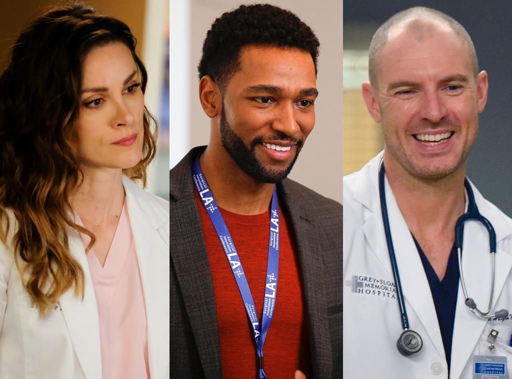 Grey's Anatomy, Stefania Stampinato, Anthony Hill, Richard Flood