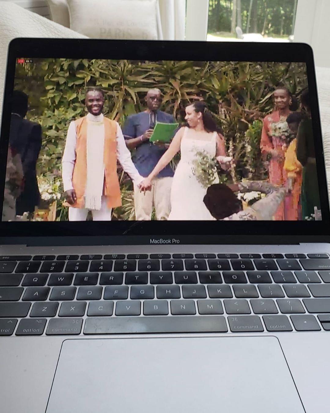 Peter Junior Nyongo, Wedding, Lupita Nyongo Instagram