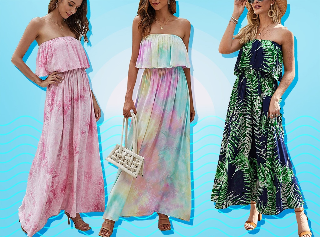 E-comm: This $30 Strapless Maxi Dress Has 1,227 5-Star Amazon Reviews