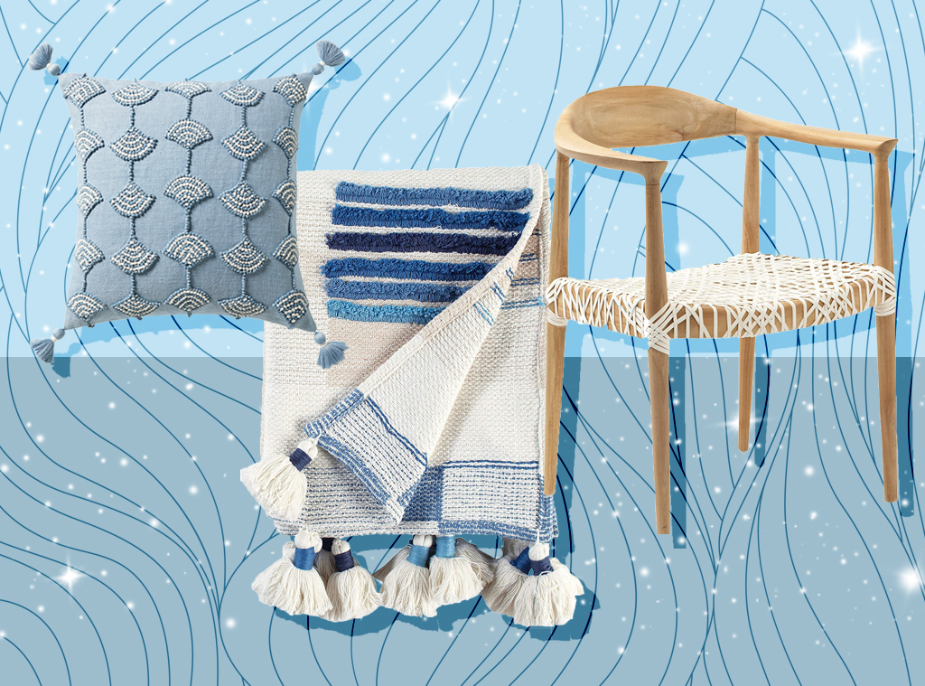 Ecomm: Chill and affordable coastal decor to bring boho beach vibes indoors