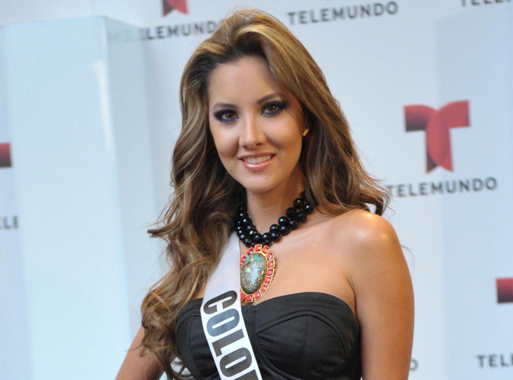 Miss Colombia Daniella Alvarez