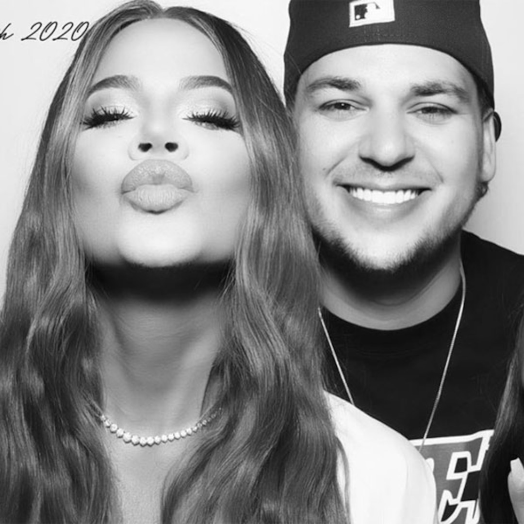 Rob Kardashian Flashes a Big Smile With Friends at a Fourth of July Party After Social Media Comeback