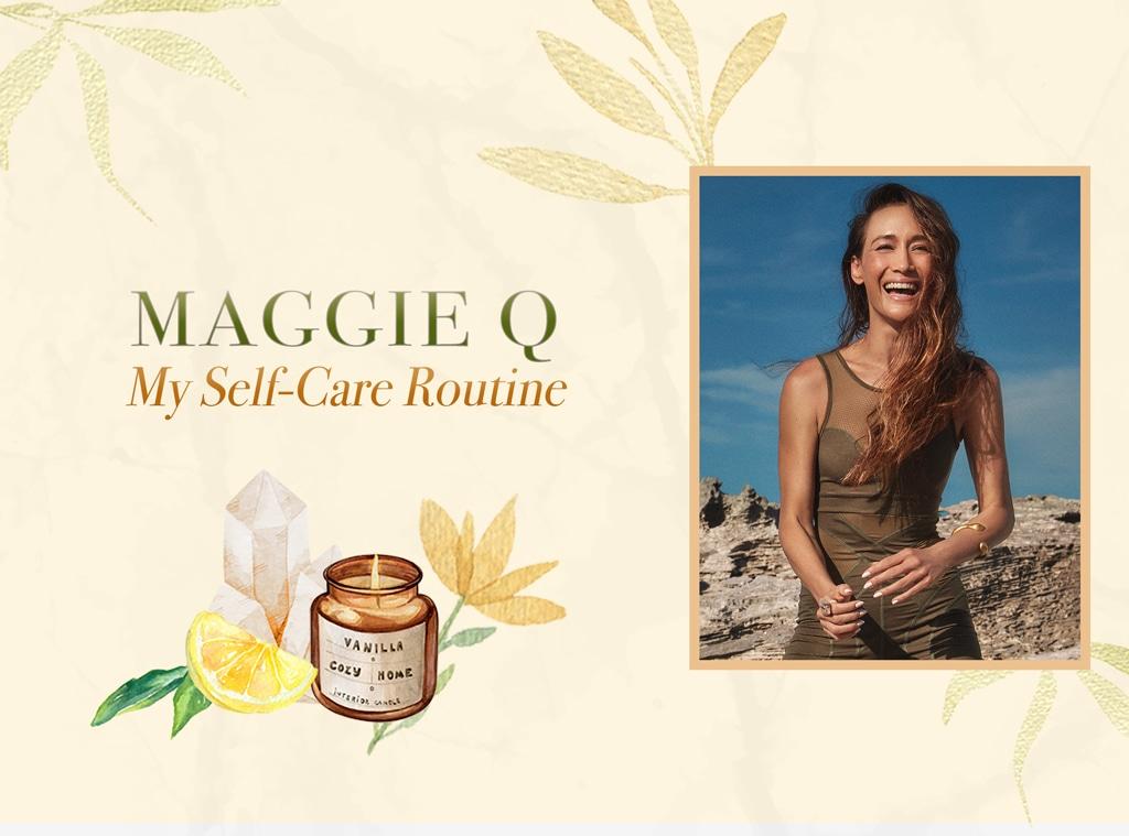 Maggie Q: My Self-Care Routine, Wellness Wednesdays