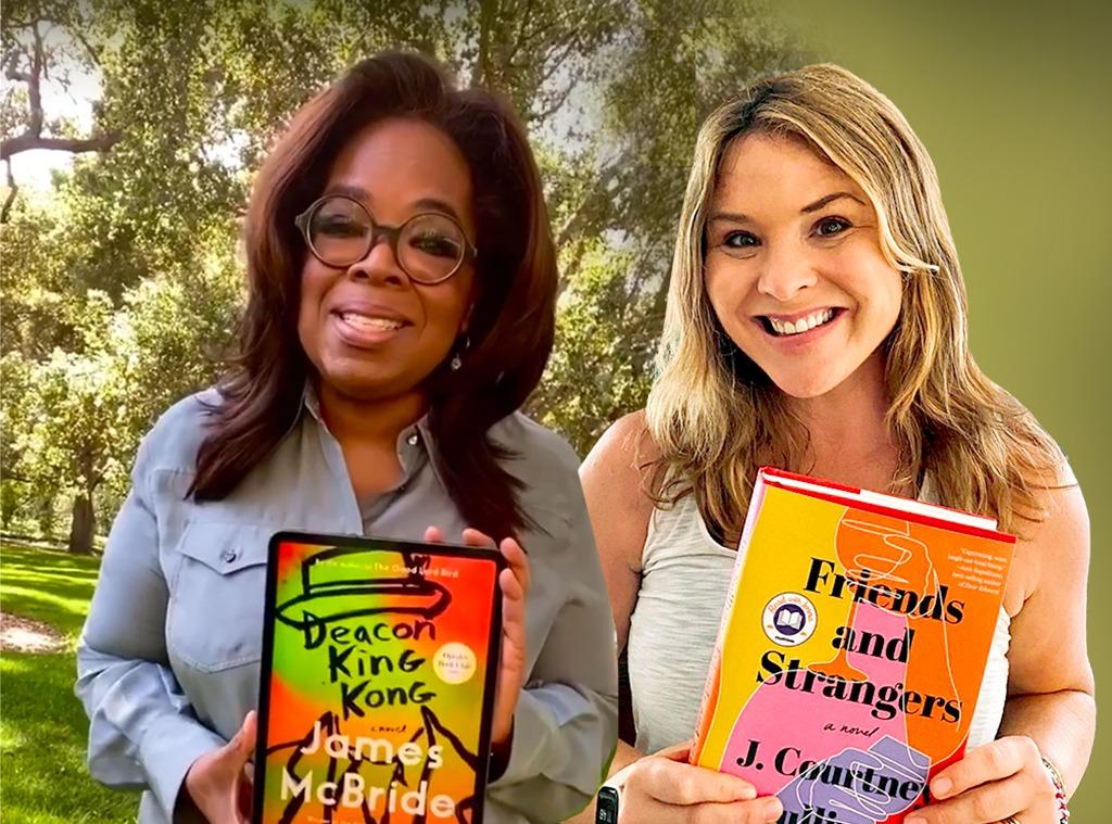 E-Comm: July Celeb Book Club Picks, Oprah, Jenna Bush