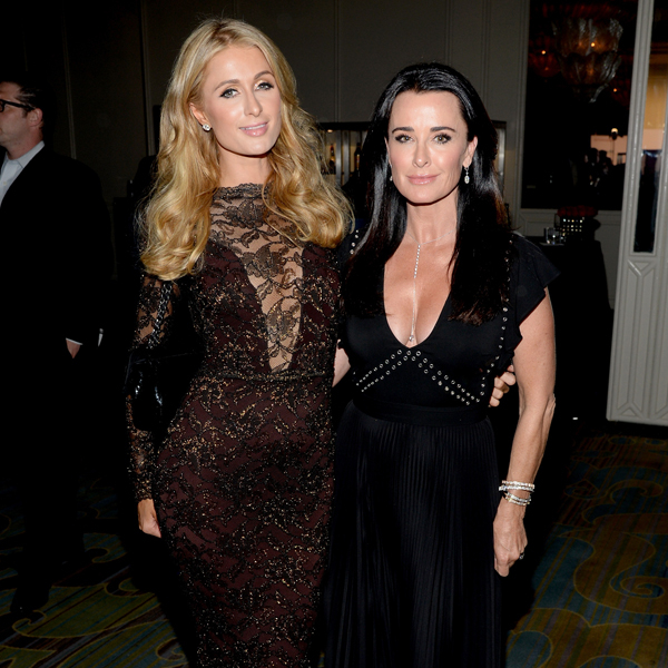 """Kyle Richards Says Her Family Was """"Devastated"""" After Paris Hilton's Sex Tape Leaked - E! Online"""
