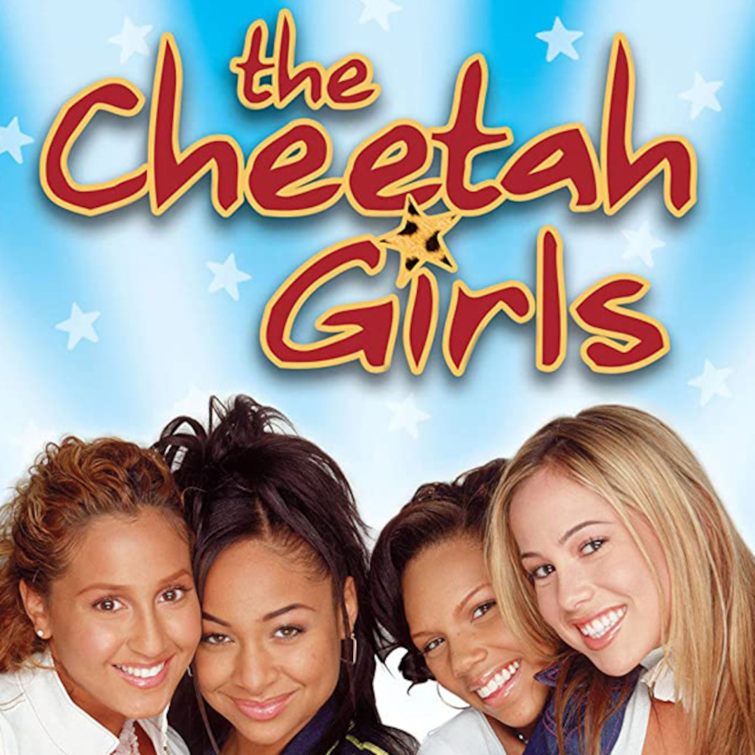 See The Cheetah Girls Then and Now