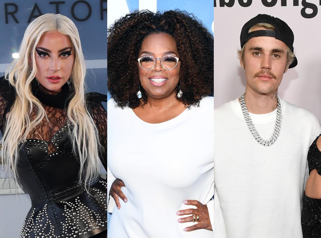 Ecomm Left Handers: Lady Gaga, Oprah Winfrey, Justin Bieber