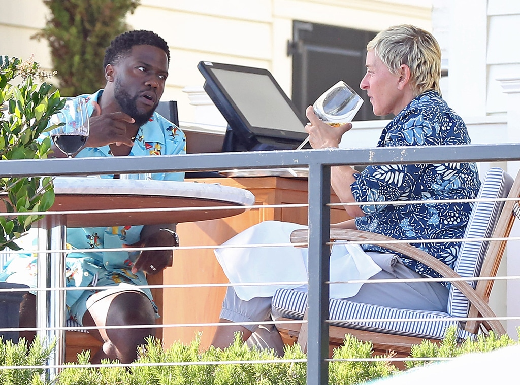 Ellen DeGeneres, Kevin Hart