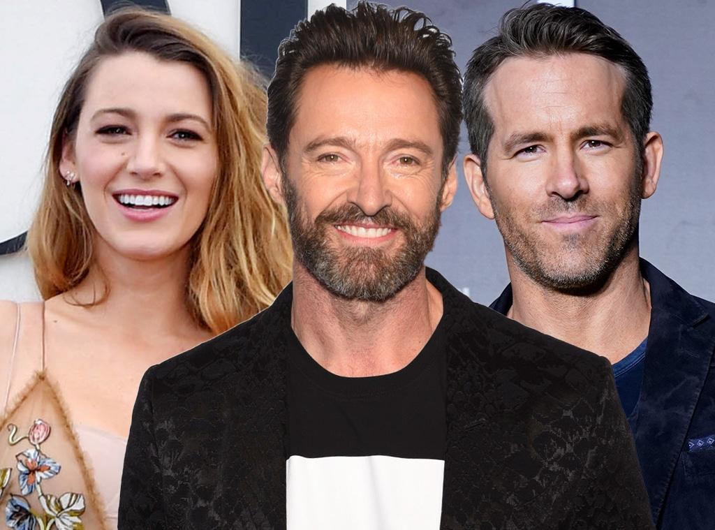 Hugh Jackman, Blake Lively, Ryan Reynolds