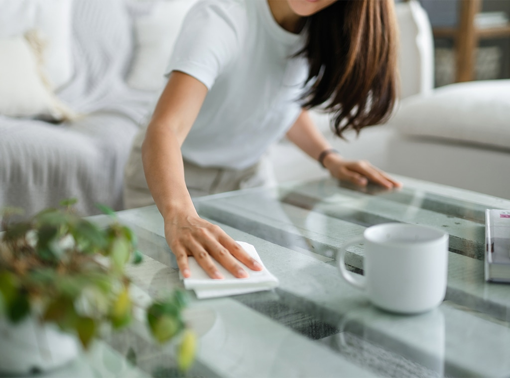 E-Comm: Brandless, Cleaning Stock Photo