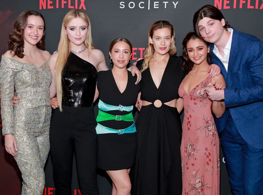 The Society, Olivia Nikkanen, Kathryn Newton, Gideon Adlon, Rachel Keller, Salena Qureshi, Jack Mulhern