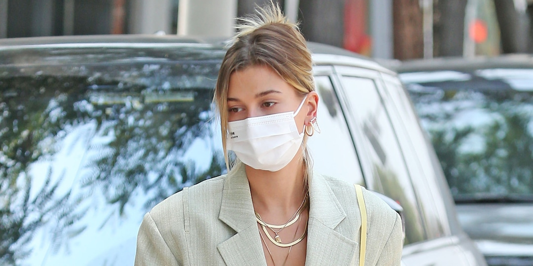 This Is the One Item Hailey Bieber Hopes Her Future Kids Steal From Her Closet - E! Online