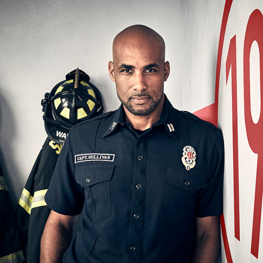 Boris Kodjoe Says Station 19 Will Unapologetically Tackle the Pandemic and Racial Justice Movement
