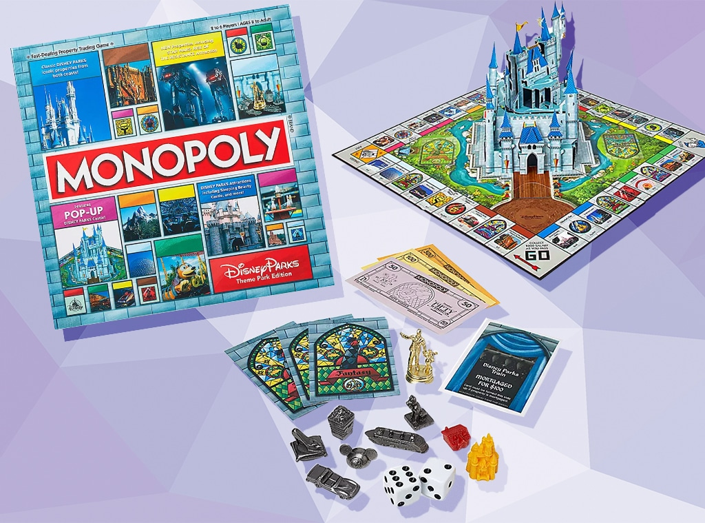 E-comm: Disney Theme Park Monopoly Is Back in Stock