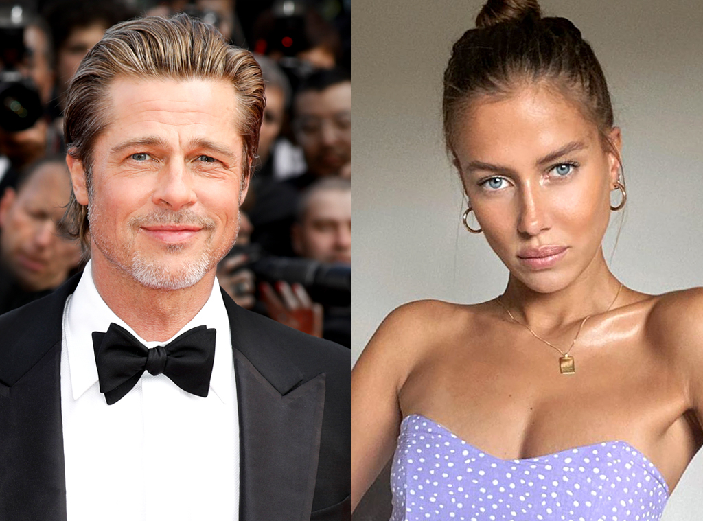 Brad Pitt And Nicole Poturalski Break Up After Brief Romance E Online