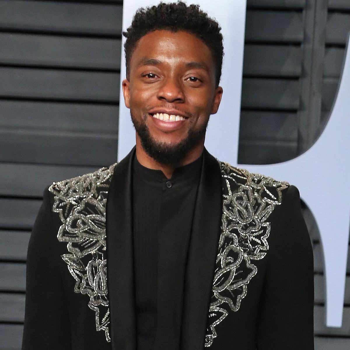 Chadwick Boseman, Vanity Fair Oscar Party 2018
