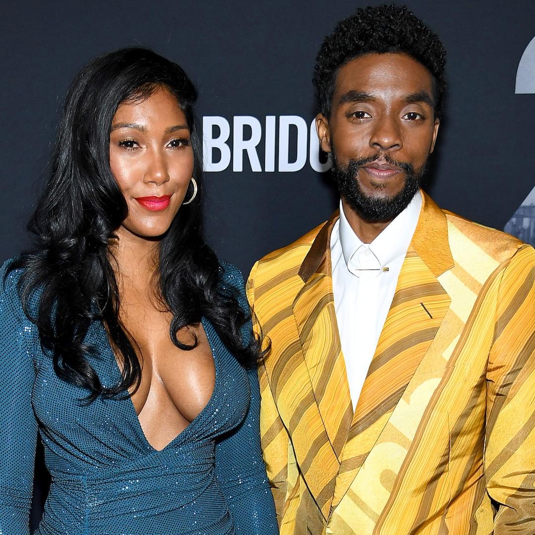 Chadwick Boseman Married Taylor Simone Ledward Before His Death - E! Online  - AP